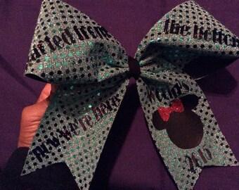 Cheer championship bow