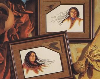 Many Winds Cross Stitch Chart Pattern 2 Native American Designs