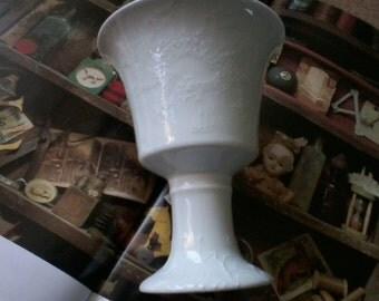 White Dragon Porcelain Chalice