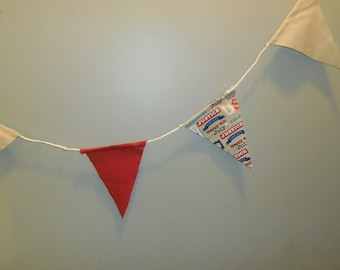 Fourth of July Fabric Banner