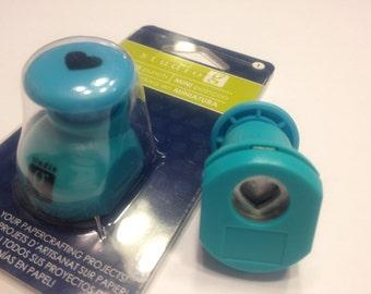 mini heart punch, 10 mm (R8)