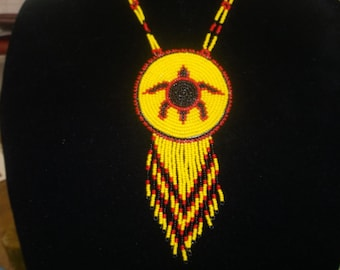 turtle necklace,native american symbols, pow wows