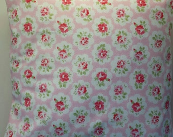 """Cushion Cover in Cath Kidston Provence Rose and Spot Pink 14"""" 16"""" 18"""" 20"""""""