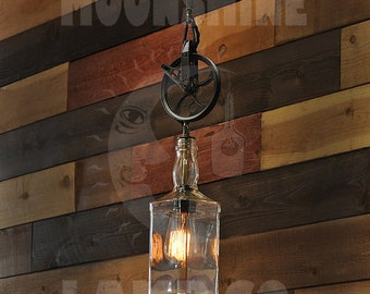 The Whiskey - Hanging Pulley Pendant