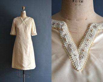 Siggy / 60s short wedding dress / 1960s dress