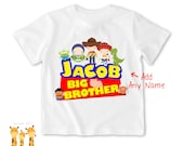 Big brother shirt Toy's Story family Tshirt - Personalized Big brother Shirt or Bodysuit - 032_BB_2C_toystory family