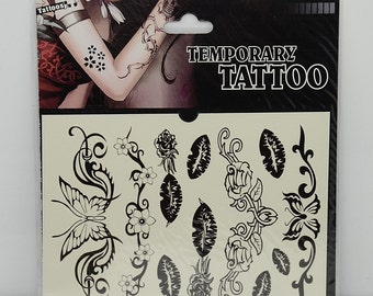 1pc cool mix shape temporary tattoo sticker-10068