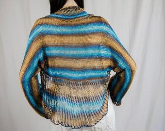 Hand Knitted Womens Shrug
