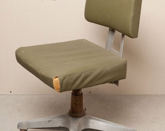 GENERAL FIREPROOFING  Mid Century Office Chair - Restoration Project - Mad Men Office - Steampunk
