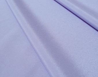 Cornflower Pastel Light Blue Silky Lightweight Crepe Fabric, Drapes well ideal for a blouse - UK SELLER