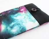 Galaxy Print iPad case, iPad Air Cover, iPad mini Case with pocket, Padded, iPad Retina Case.