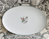 Noritake Margot oval serving platter...
