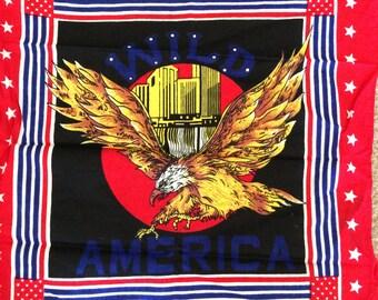Vintage Eagle Handkerchief