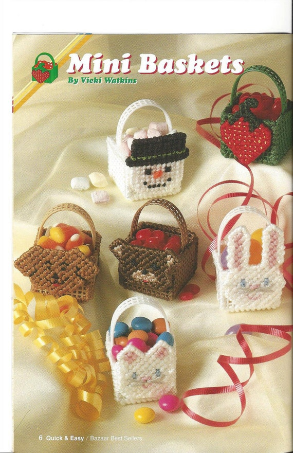 Bazaar Best Sellers Plastic Canvas Pattern The