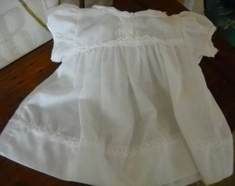 Vintage Baby White Dress size 18 months