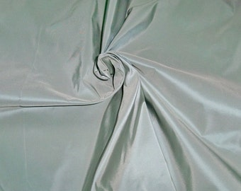 SCALAMANDRE SYMPHONY Silk Taffeta Fabric 10 yards SPA Blue
