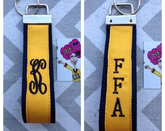 FFA Monogrammed Key Fob