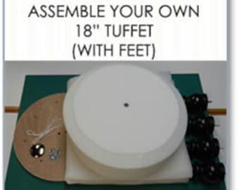 "18"" Tuffet Kit with Bun Feet"