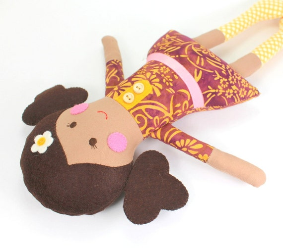 Ethnic Rag Doll For Girl