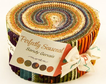 PERFECTLY SEASONED - Jelly Roll - by Sandy Gervais for Moda