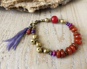 Sale / bohemian bracelet, bohemian jewelry, colorful gypsy jewelry,  yoga bracelet, boho chic bracelet