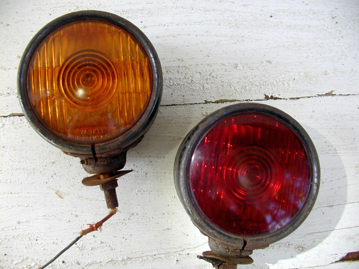 Old Pickup Lights : Vintage truck tractor tail lights yankee norwalk