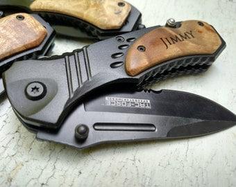Groomsmen Knives, Personalized Pocket Knife, Gifts for Groomsmen, Customized Knife, Engraved Knife, Custom Pocket Knive, Personalized Knife