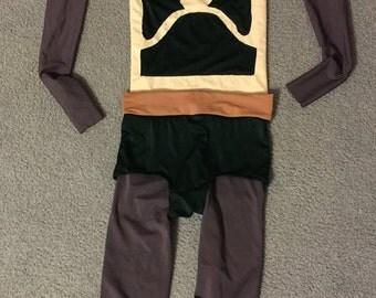 bounty hunter running costume