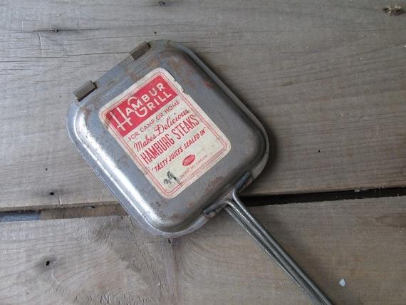Vintage HamburGrill Androck Camping Gear NOS