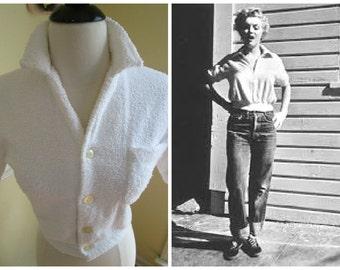 Ultimate Bad Girl Vintage 1950s 50s Marilyn Terry Jumper -Deadstock/Nos -Juvenile Delinquent-Hot Rod-Rockabilly-Pinup-Bombshell-Vixen-
