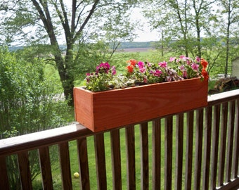 Decorative Wood  Flower Box, Wood Flower Box, Deck Flower Box, Garden Flower box, Indoor Flower Box,