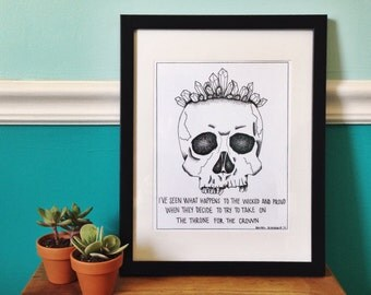 The Wicked and Proud Art Print