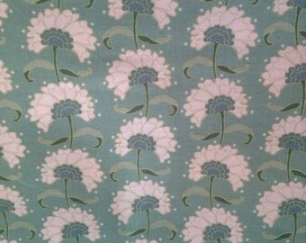Rita Teal Tilda fabric from the Spring lake range by designer Tone Finnanger.  Cut to order as Fat Quarter, Half Metre or Full Metre