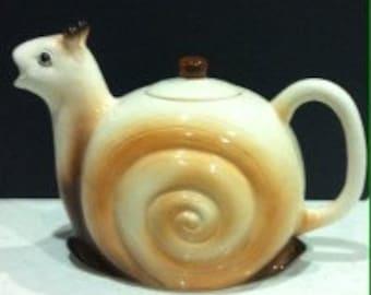 Snail Teapot - Vintage Retro