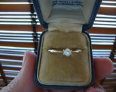 RESERVED for Grayce only, Vintage Diamond Ring