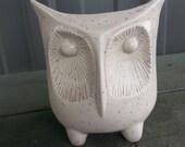 Small Owl Vase/Pen Holder