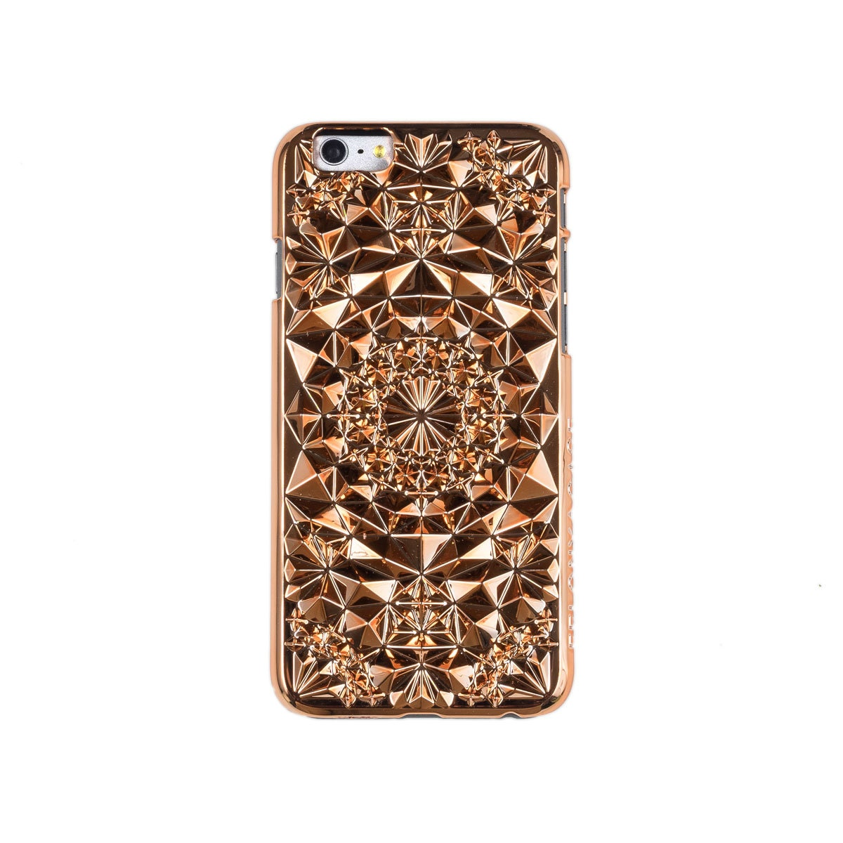 rose gold geometric kaleidoscope case for iphone by felonycase. Black Bedroom Furniture Sets. Home Design Ideas