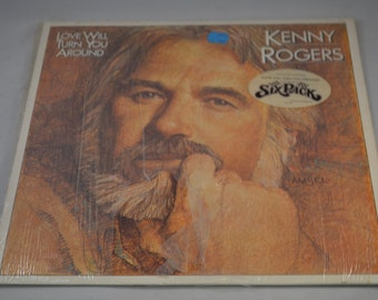 Vintage Record Kenny Rogers: Love Will Turn You Around Album LO-51124