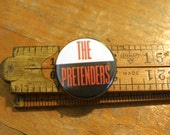 "The Pretenders 1.25"" Button Pinback Badge Pin Chrissie Hynde"