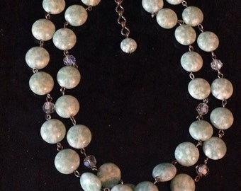 1950s necklace and earrings set