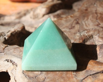Green Aventurine Crystal Pyramid