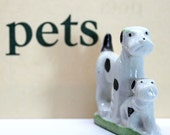 Fox Terrier Figurine*Made in Japan*Hand Painted Bone China*Dog Figurine*Dog Collection