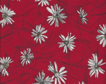 Small Marguerite Daisy Col A by Suzuko Koseki for  Yuwa of Japan