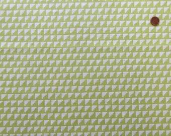 Steps in Chartreuse (B) from Framework by Ellen Baker for Kokka