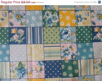 CLEARANCE Patchwork in Blue from QH Textiles