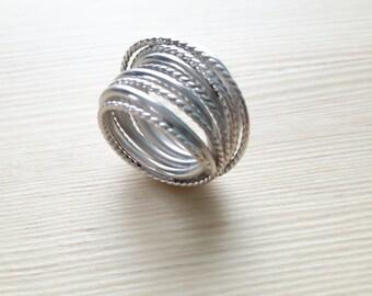 Ring Silver Twist 925