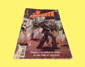 1979 Twilight Zone Comic Book - Gold Key vintage collectible SCARCE