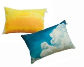 Cloud and African Savanna pillow SET