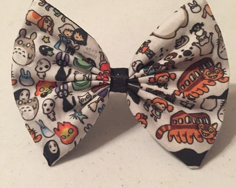 Studio Ghibli Fabric Hair Bow