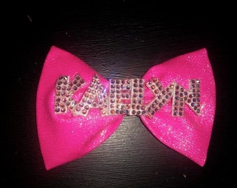 Fabric Bling bow